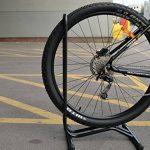 2–Support pour vélo Sport Cyclisme Vélo simple sol Rack support de rangement garage Stationnement de la marque image 3 produit