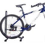 2–Support pour vélo Sport Cyclisme Vélo simple sol Rack support de rangement garage Stationnement de la marque image 4 produit