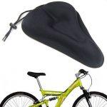 Accessotech Vélo Bicyclette Selle Housse Confort Supplémentaire Fourreau Gel Souple Coussin Gym Plaies de la marque image 3 produit