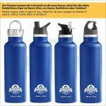 Acier inoxydable Flask Gourde () Double Paroi Isolée pour le sport, Fitness, enfants, la randonnée et bureau de la marque image 2 produit