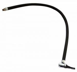 Aerzetix: Tuyau de gonflage avec embout pour pompe compresseur. Longueur 50cm Filetage M8 C18569 de la marque image 0 produit