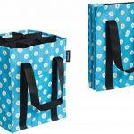 AmazonBasics - Sac à bouteilles, 9 compartiments, bouteilles de 0,75 l, Imprimé Bleu de la marque image 2 produit