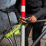 Antivol pour vélo avec code numérique et chaîne extra forte: ALL LEMON - Serrure à combinaison de 90 cm de longueur et code de sécurité à 5 chiffres en style urbain | Serrure de sécurité pour vélo, cyclomoteur et moto | Serrure à chaîne de la marque image 1 produit