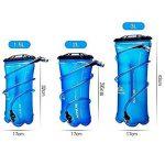 Aonijie randonnée hydratation Poche à eau 1L/1.5L/2L/3L Réservoir d'eau Camping bouteilles de la marque image 2 produit