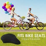BV housse de selle de vélo - coussin en mousse mémoire de forme extra douce pour velo d'appartement, vélo d'intérieur, vélo en salle de la marque image 5 produit