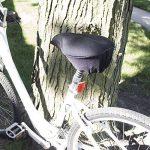 BV housse de selle de vélo - coussin en mousse mémoire de forme extra douce pour velo d'appartement, vélo d'intérieur, vélo en salle de la marque image 6 produit