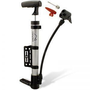 CampTeck Mini Pompe Velo Léger et Portable Pompe à Vélo avec Pied Pliable, Support de Montage - Convient pour Valves Schrader et Presta de la marque image 0 produit