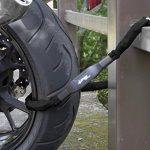 CROPS Chaîne antivols en acier Pro K4 – pour vélo scooter mobylette – haute sécurité de la marque image 2 produit