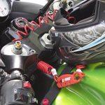 CROPS Pro Q4 Câble Antivol avec Combinaison - Mémoire de Forme : Revient à sa Forme Initiale - Pour Moto, Vélo, Valises, Snowboard, Skis et Casque de Moto de la marque image 2 produit