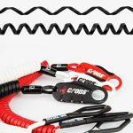 CROPS Pro Q4 Câble Antivol avec Combinaison - Mémoire de Forme : Revient à sa Forme Initiale - Pour Moto, Vélo, Valises, Snowboard, Skis et Casque de Moto de la marque image 3 produit