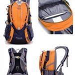 Cuckoo 25L Lightweight Waterproof Camping Travel Cyclisme Randonnée Sac à dos avec Rain Cover Compartiment pour ordinateur portable Hydratation Bladder Pack de la marque image 1 produit