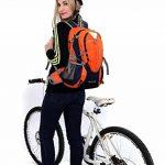 Cuckoo 25L Lightweight Waterproof Camping Travel Cyclisme Randonnée Sac à dos avec Rain Cover Compartiment pour ordinateur portable Hydratation Bladder Pack de la marque image 6 produit