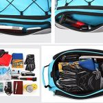DCCN 13L Sacoche pour Arrière de Vélo Porte-bagages, Sac de Rangement arrière de Transport Vélo du Siège Sac Résistant à l'eau pour VTT Cyclisme TRES TRES BONNE Qualité de la marque image 4 produit