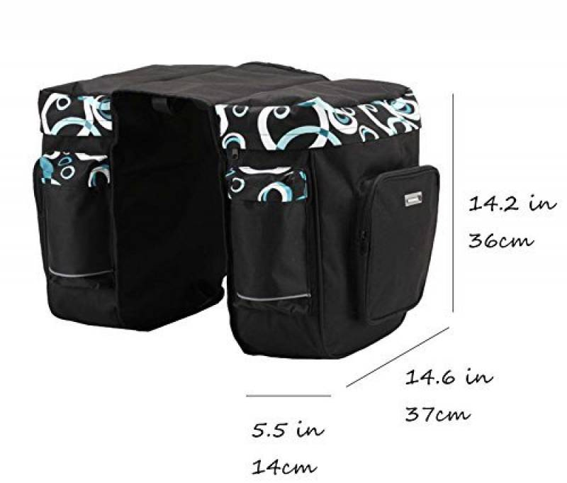 Sac Rigide Noir Sac de Selle Sac de Rangement Universel pour Sac de Rangement Universel Cosy-TT Sacoche de Moto