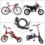 Ducomi® poundium Cadenas de sécurité avec câble à spirale en acier avec combinaison secrète pour vélo et cyclomoteurs–Longueur: 80cm de la marque image 2 produit