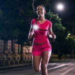 Eclairage Course, Eclairage Sport Myguru Lampe Running LED Rechargeable pour Marche, Lampe Sport de Poitrine, Running Eclairage Lampe Frontale de 3 Modes pour Courir Soir en Hiver, Jogging Nuit de la marque image 4 produit