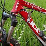 Efanr Mot de passe de sécurité antivol pour vélo casque de moto Antivol 4-feet verrous de câble mini en alliage de zinc auto-enroulable réinitialisable Serrure à combinaison Cadenas multifonctionnel pour sac de voyage pour vélo de la marque image 2 produit
