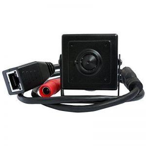 ELP 720p Mini Megapixel industriel caméra IP, Mini sténopé réseau masqué,sécurité caméra ip p2p de la marque image 0 produit