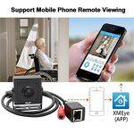 ELP 720p Mini Megapixel industriel caméra IP, Mini sténopé réseau masqué,sécurité caméra ip p2p de la marque image 2 produit