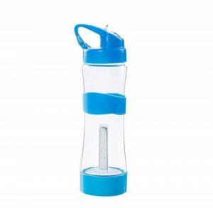 Elyseesen Bouteille d'eau portative 500mL BPA Bouteille d'éclairage de sport de plein air libre de fuite de la marque image 0 produit