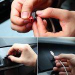 EX1 Auto Voiture USB Câble de Charge Support Crochet Organisateur Clip Accessoires (8 Pièces) de la marque image 5 produit