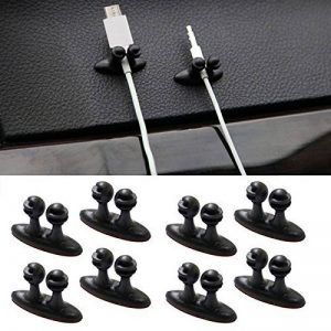 EX1 Auto Voiture USB Câble de Charge Support Crochet Organisateur Clip Accessoires (8 Pièces) de la marque image 0 produit