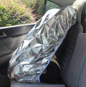 EX1 Bébé Enfant Auto Voiture Housse de Siège Parasol Lumière du Soleil Chaleur UV Rayons Réflecteur Protection Anti Poussière de la marque image 0 produit