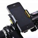 Eximtrade Universel Vélo Bicyclette Monture Support Téléphone pour Apple iPhone 4/5/5s/6/6s/6Plus/6s Plus/7/7 Plus, Samsung Galaxy S2/S3/S4/S5/S6/S6 Edge/S6 Edge Plus/S7 Edge/Note 3/Note 4/Note 5, HTC One, Motorola, Sony Xperia, LG et autre Smartphones et image 1 produit