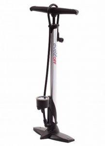 EyezOff EZ31 Pompe à pied haute pression (11 BAR) pour vélo - avec manomètre et poignée ergonomique (corps en Aluminium) de la marque image 0 produit