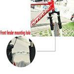Finoki Garde-boue - 360° garde-boue à vélo tablettes d'argile pas casser garde-boue pour vélo VTT cyclisme de la marque image 6 produit