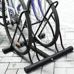 FIXKIT Râtelier Familial Pancher de Vélo Mur pour 2 Vélos Rack Stockage Verrouillage Support Garage de la marque image 3 produit
