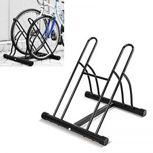 FIXKIT Râtelier Familial Pancher de Vélo Mur pour 2 Vélos Rack Stockage Verrouillage Support Garage de la marque image 0 produit