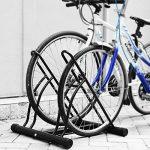 FIXKIT Râtelier Familial Pancher de Vélo Mur pour 2 Vélos Rack Stockage Verrouillage Support Garage de la marque image 6 produit