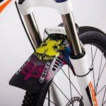 Garde-boue de pneu pour Mountain BMX Racing Touring Road Bike PE Lightest VTT avant Fourche arrière Type de vélo Fenders Vélo de route Nouveau Noir / Blanc de la marque image 2 produit