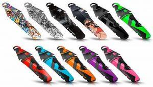 Garde-boue Riesel Design-Rit:ze 2018 pour protection de la selle contre les éclaboussures, pour vélo, vélo de course, roue arrière-Stickerbomb de la marque image 0 produit