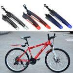 Gearmax® Durable Mountain Bike vélo pneu avant Rear boue gardes garde-boue garde-boue Set (noir + gris) de la marque image 5 produit
