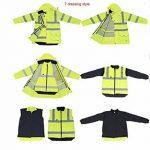 gilet fluorescent pour les cyclistes TOP 8 image 3 produit