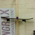 hangrax Suspension innovante Solutions–Taille: Large & Couleur: Transparent–Simple stockage de garage pour planche de surf, snowboard, vélo, canoë,, câbles électriques, etc.–Distribuée par gorillaspoke cleantechstore de la marque image 6 produit