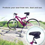 Housse selle de vélo, Vélo Housse de siège, Housse Vélo Protection Selle, Etanche Housse de Selle Cyclisme Convient pour les Sièges de Vélos de Montagne et les Vélos de Route (2pcs) de la marque image 2 produit