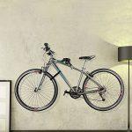 Ibera crochet mural support de rangement mural horizontal ajustable pour vélo angle réglable 45 ° porte vélo mural de la marque image 5 produit
