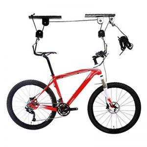 icoco Lot de 2Bike Lift jusqu'à 20kg, vélo Suspension plafond pour, Peu encombrant de la marque image 0 produit