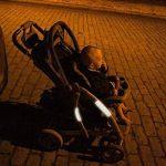 iZoeL Stickers Adhésifs Réfléchissants 16Pcs Visibilité de nuit, Adhésif universel, Stickers pour vélo / poussette / casque / moto / jouets, Bandes Pack de 1 de la marque image 1 produit