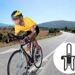 J&D Porte-bidon, Support Porte Bouteille d'eau Léger pour Vélo Bicyclette Cyclisme en Aluminium – 2 pour un paquet, Noir et Argent de la marque image 4 produit