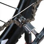 JTDEAL Outil Dérive Chaîne, Chaîne de Vélo avec le Crochet de Chaîne, Outil de Réparation de Chaîne de vélo et VTT avec le Diviseur de Coupe Chaîne de Vélo, Parfait pour 3/32 pouce à 3/16 de pouce de la Chaîne et 5-10 Vitesse de la Chaîne (Noir) de la mar image 3 produit
