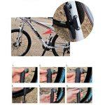 Kit de réparation multifonction de pneu vélo Giwil - Sans colle - Pompe compatible avec les valves Presta et Schrader - Pompe 8 bars de la marque image 4 produit