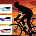 LED haute visibilité Cyclisme Brassard wuzmei Course Gear Bracelets Brassard Ceinture phosphorescent en Slap bande de sécurité pour cyclisme, Course à pied, jogging 1Paire de la marque image 2 produit