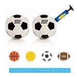 Lifebee Pompe à Ballon Pompe de Gonflage pour Ballons en Set avec Aiguille et Adapteur pour Basket-ball Football de la marque image 3 produit