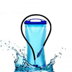 Lixada 2L PEVA large bouche Hydratation Poche à eau sac pour sport Randonnée Camping Escalade sac à dos portable de vélo Bleu de la marque image 0 produit
