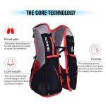 Lixada Gilet-sac à dos de sport 5 L, veste pour système d'hydratation/poche à eau d'1,5 L pour cyclisme, randonnée, sport en plein air de la marque image 1 produit