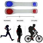 Lot de 2Kyc LED Brassard réfléchissant Ceinture de course haute visibilité Gear pour jogging Marche ou de cyclisme phosphorescent en sécurité LED Band de la marque image 4 produit